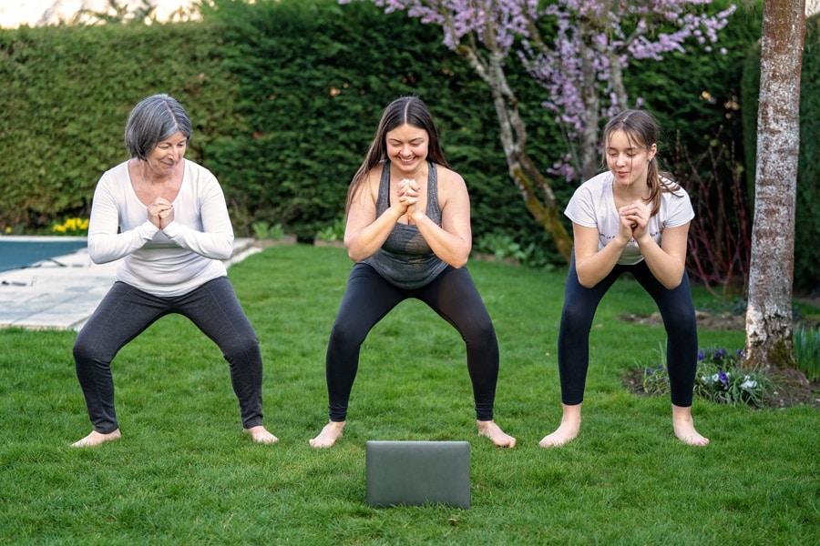 gardens for health - outdoor exercise