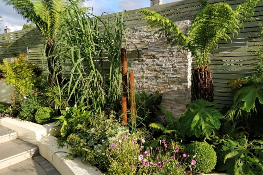 collaboration between garden design and landscaping