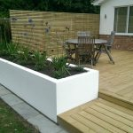 low maintenance garden decking