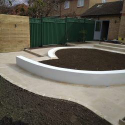 curves are the new garden design trends