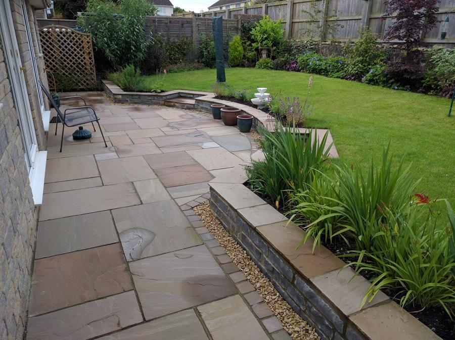 garden designed for climate change