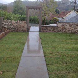 doorway to another part of the garden