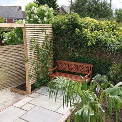 small intimate seating area