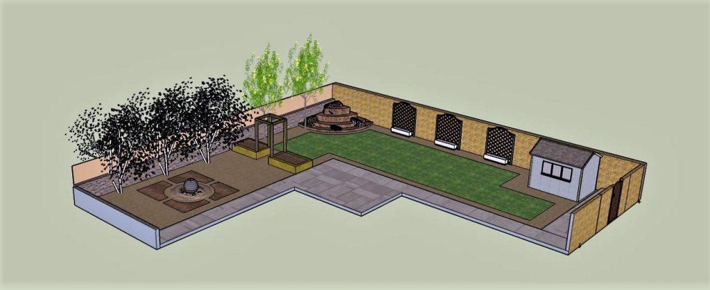 3d design plan for landscaping