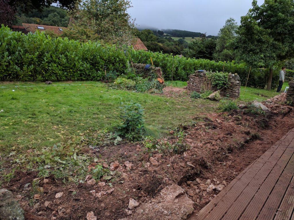 Partially neglected garden ripe for redesign